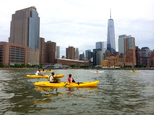 Free Kayaking NYC on the Hudson River