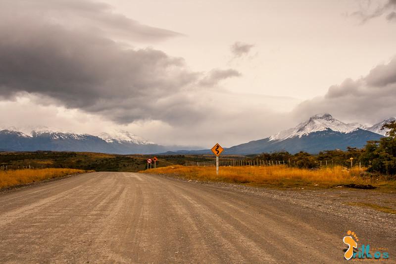A entrada no Parque Nacional Torres de Paine, no extremo Sul do Chile!