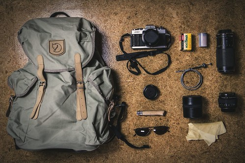 travel film analog canon vintage eos cycling minolta... (Photo: AndyHappel on Flickr)