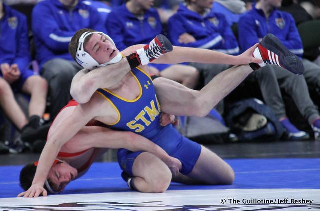 145 - Cody Schoen (St. Michael-Albertville) over Bryce Erickson (Willmar) Dec 8-1