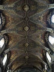 Igreja de Santa Clara ceiling