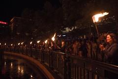 6 Guest lighters around the basin. (Photo by Jen Bonin)