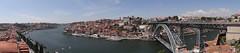 Porto and the Louis I Bridge panorama