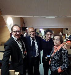 "Prof. Yaír Hazán Psych. D., Prof. Dr. Giuseppe Ferrigno (I), Dr. Anna Maria Bastianini & Dr. Hanna Kende • <a style=""font-size:0.8em;"" href=""http://www.flickr.com/photos/52183104@N04/14686444885/"" target=""_blank"">View on Flickr</a>"