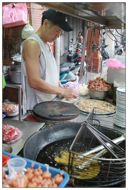 [台北.美食]延三夜市.葉家雞捲~讓我對雞捲完全改觀 @VIVIYU小世界
