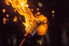 5 The torches are lit. (Photo by David Dobrzynski)