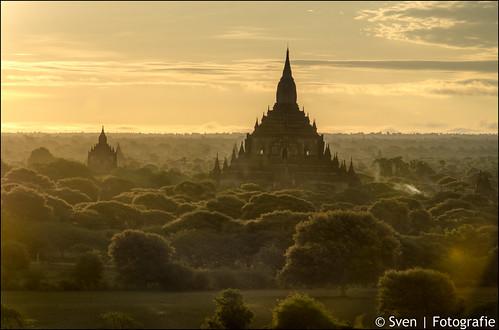 Sulamani Pagoda at sunrise