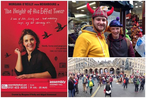 Today is all about...experiencing Edinburgh Fringe