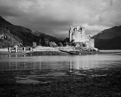 "Eilean Donan Castle (mono), near Dornie • <a style=""font-size:0.8em;"" href=""http://www.flickr.com/photos/26440756@N06/14850102952/"" target=""_blank"">View on Flickr</a>"