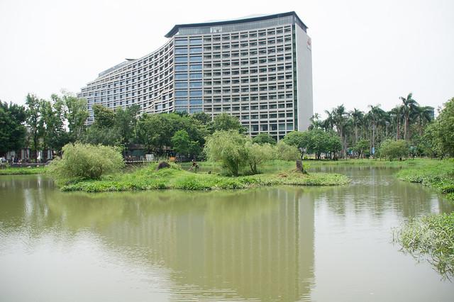 松山文創園区 池