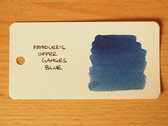 Noodler's Upper Ganges Blue