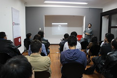 "El meetup oficial del framework Django • <a style=""font-size:0.8em;"" href=""http://www.flickr.com/photos/125112507@N02/14382362307/"" target=""_blank"">View on Flickr</a>"