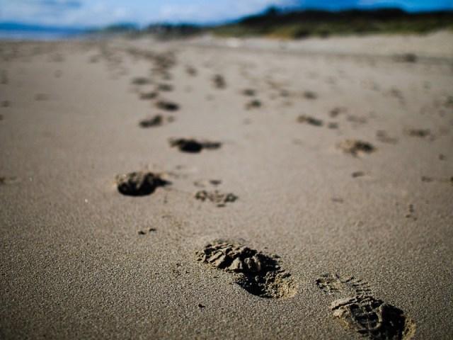Beach treads.