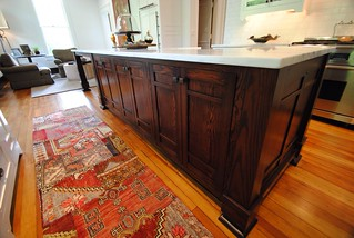 Arts and Crafts Style Kitchen Island