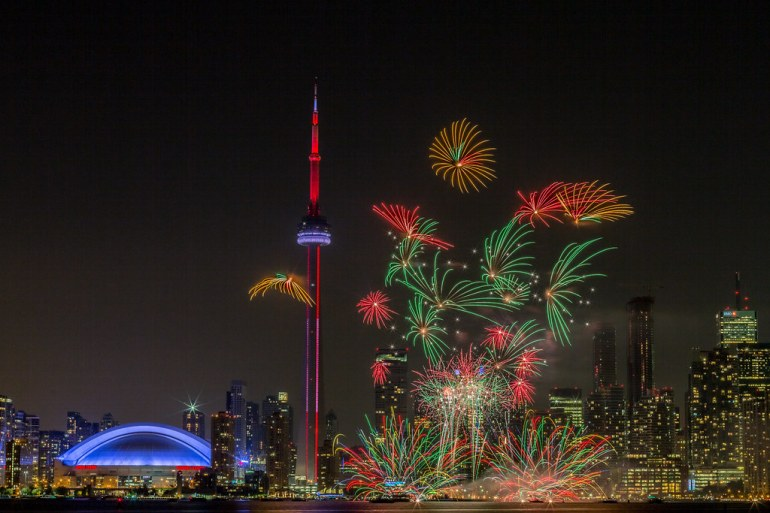 Canada Day Fireworks Toronto 2014 by Duncan Rawlinson - Duncan.co - @thelastminute, on Flickr