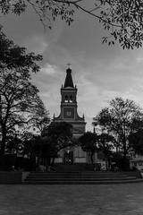 A igreja - B&W