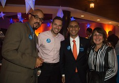 Sean Holley, Bobby Gondola, Jorge Elorza and Judy Bentkover (Photo by Jen Bonin) 83