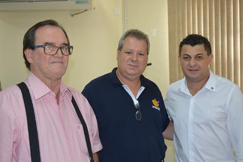 Rubens Souza, Cléber Pinho e Amaury Gonçalves