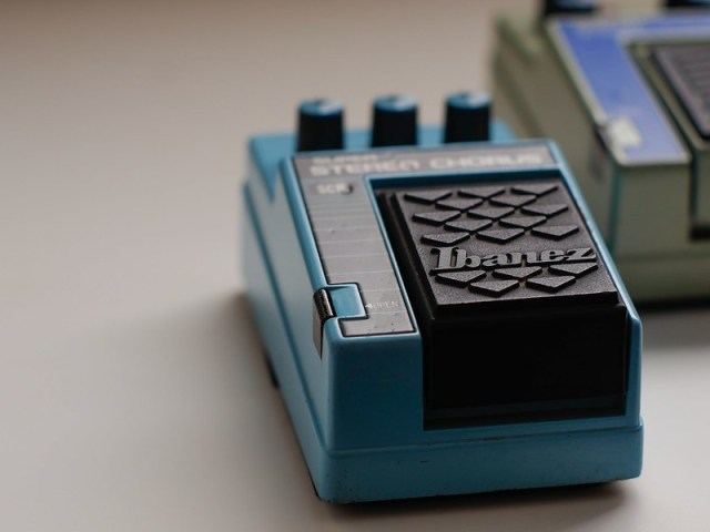 Ibanez SC10 analog chorus, part of the 10 series.  Great retro sounds, shot on a #panasonicgh4 with a #takumar50mm mounted on a #fotodioxm42adapter.