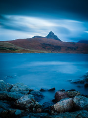 """Stac Pollaidh from Loch Bad a' Ghaill • <a style=""""font-size:0.8em;"""" href=""""http://www.flickr.com/photos/26440756@N06/14974217704/"""" target=""""_blank"""">View on Flickr</a>"""