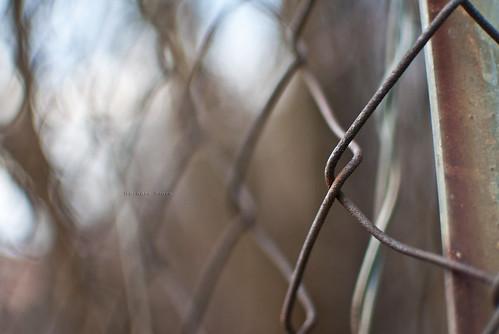 bokeh anima ruggine acciaio grata incroci (Photo: Barbara Fi@re on Flickr)