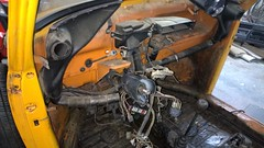 Dash and Steering Column Removal