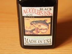 Noodler's Black - Close Up