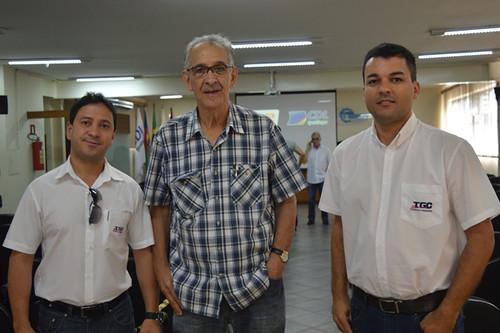 Marcos Cambraia, Elísio Cacildo e Marcelo Lana