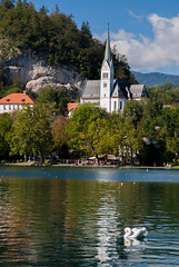 postcard from bled.
