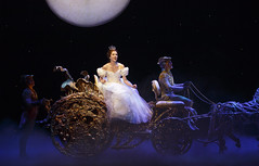 Adrian Arrieta, Paige Faure and Blakely Slaybaugh in Rodgers + Hammerstein's Cinderella presented by Broadway Sacramento at the Sacramento Community Center Theater May 12 – 17, 2015. Photo by Carol Rosegg.