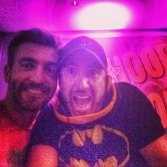 DJ Stuart & me #whoopwhoopgrosgross #whoopwhoopontour #stuart