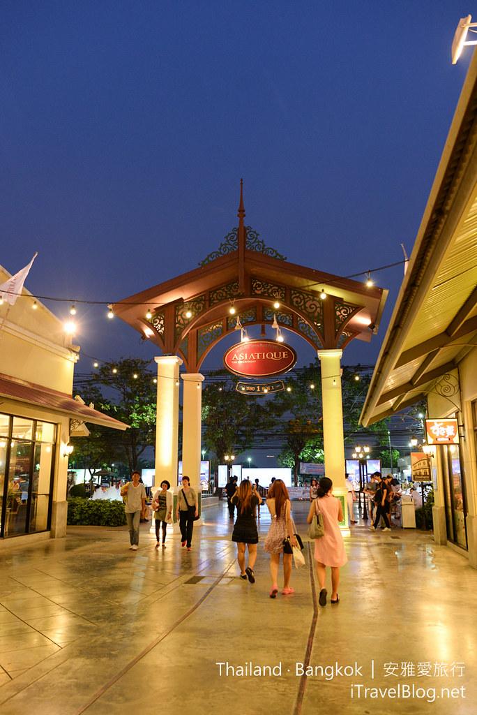 曼谷 河岸碼頭夜市 ASIATIQUE The Riverfront 38