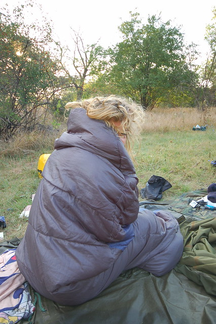 Camping on the Hungarian Great Plains