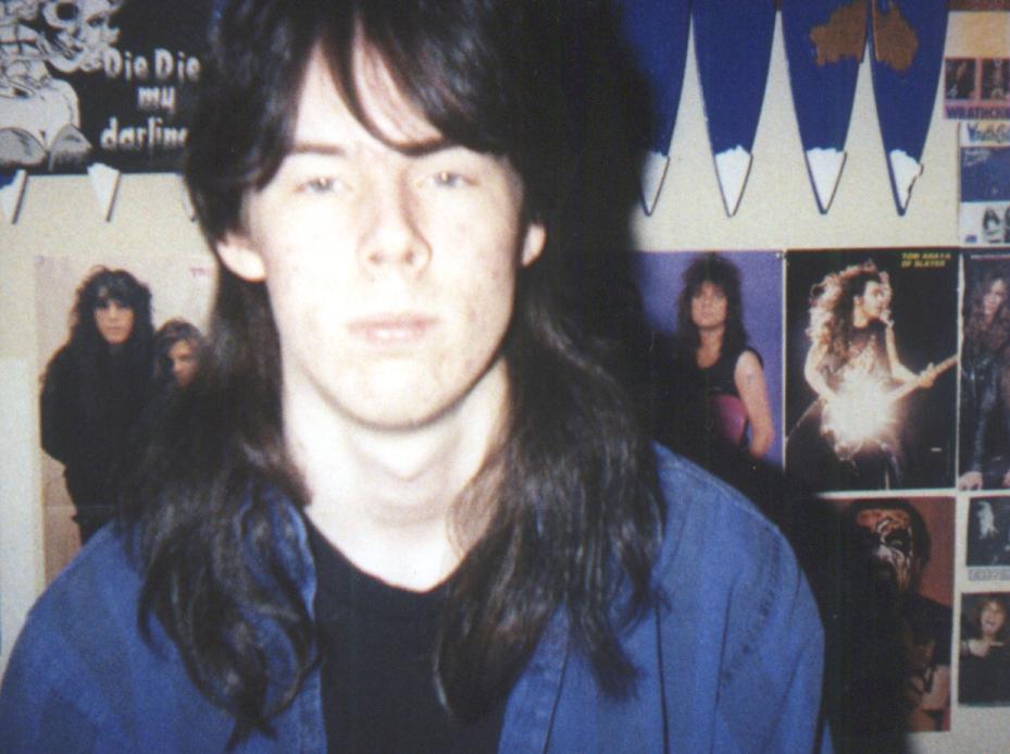 1991ish - Clint's room - Brent - 0447
