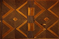 African carved door pattern, abstract geometric, De Young ...
