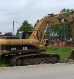 constructionmachines110 a cat 330d excavator by constructionmachines110 [ 1024 x 768 Pixel ]