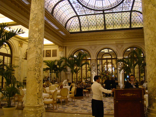 Palm Court, the Plaza, New York