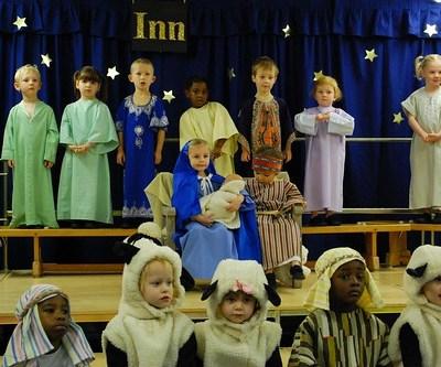 Christmas nativity childrens play