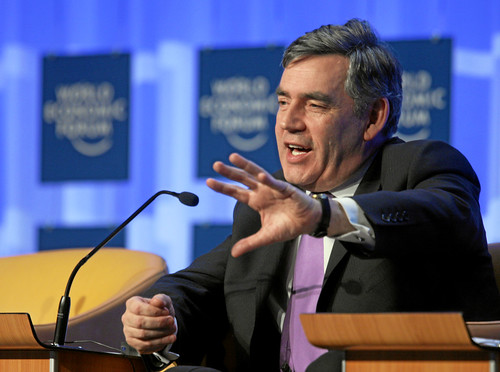 Gordon Brown - World Economic Forum Annual Meeting Davos 2008