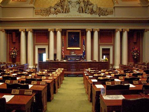 Minnesota State House Of Representatives Chamber Law