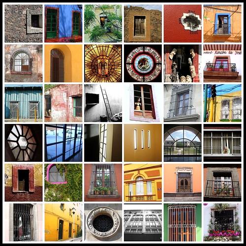 Mosaico de Ventanas II - México 2008