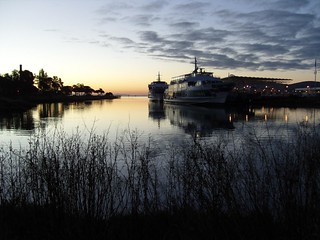 Larkspur Landing at dawn