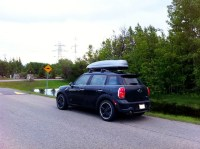 MINI Countryman - Roof rack and roof box | Flickr - Photo ...
