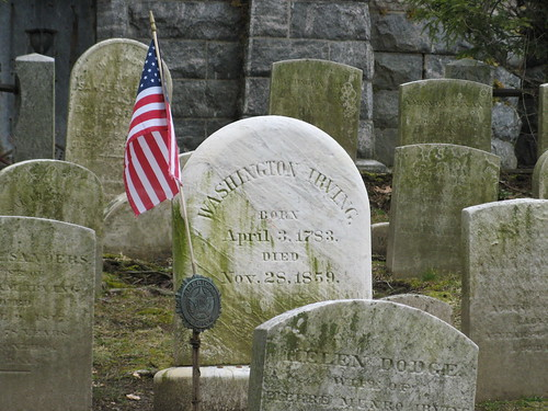 Washington Irving's Grave