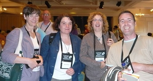 Bloggers at Crime Fest copy