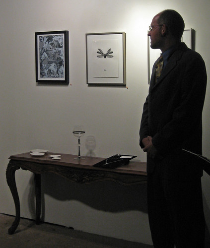jay auctioning off tha broz art by ishiku