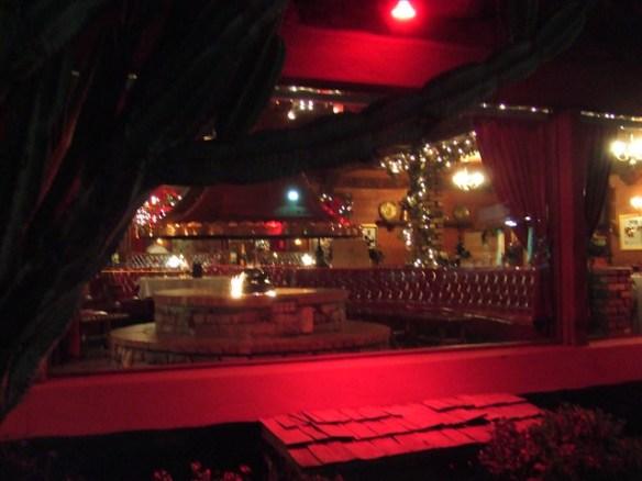 firepit at the Magic Lamp Inn