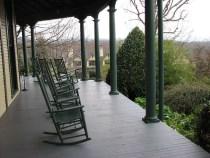 Richmond Hill Inn Porch