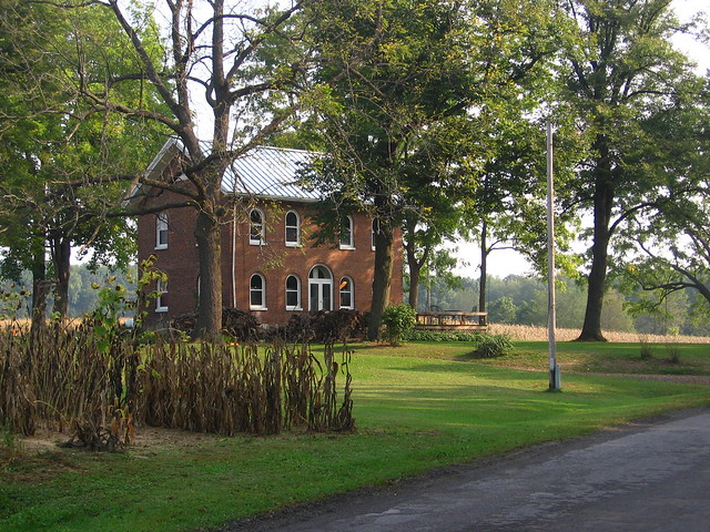 Cool old farm house near Burr Oak Michigan  Flickr