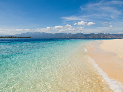 Gili Island beach scene | Flickr - Photo Sharing!